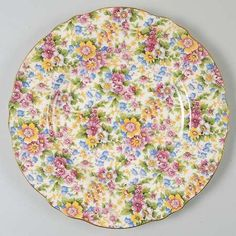 Plate by Royal Winton in Cheadle pattern