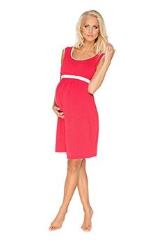 My Tummy Womens Maternity Nursing Nightgown Nightdress Suzie Red Dots XL XLarge -- Check this awesome product by going to the link at the image.Note:It is affiliate link to Amazon.