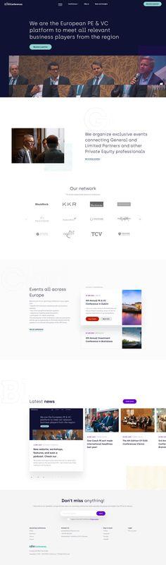 Conference webdesign homepage Conference, Web Design, Digital, Website Designs, Site Design