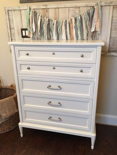 General Finishes Antique White. Love