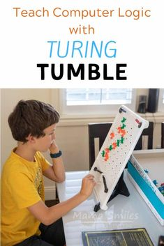 Turing Tumble makes teaching computer logic fun for all ages! This challenging game develops creativity and problem solving. Instructional Technology, Instructional Strategies, Teaching Kids, Kids Learning, Teaching Computers, Teaching Computer Skills, Homeschool Blogs, Homeschooling, Teaching Programs