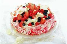 If you really want to impress with a homemade dessert, you should try our pavlova recipe. The classic meringue dessert is a little tricky to master but it produces amazing results. Homemade meringue needs a lot of care and attention (take a look at our essential tips below) but once you've made them once, you'll get the hang of it! Berries and cream are the ultimate filling and if you're feeling fancy you can even swirl a little food colouring into the mix to give it a colourful finish.