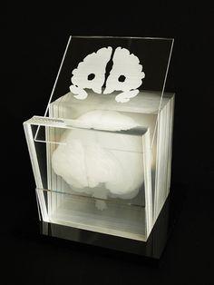 Laser etched brain