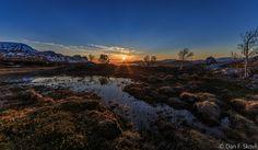 https://flic.kr/p/GDx4vr | Midnightsun on Kvænagsfjellet Northern Norway