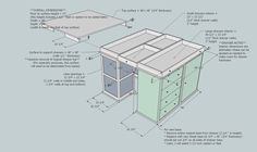 How I love you Google Sketch-up.  Rendering of my soon-to-be cutting table... using an old dresser as part of the base.