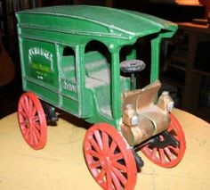 Vintage Cast Iron McCallister Mercantile by 7AWestCollectibles, $30.00