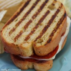 Pizza Grilled Cheese Sandwich Recipe @FoodBlogs