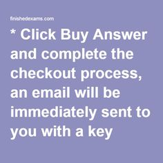 * Click Buy Answer and complete the checkout process, an email will be immediately sent to you with a key (password) to have access to the answers. * Check your spam folder in your email if you have not received an email from us after making a purchase. If you have any questions please contact us: homeworkfact@gmail.com PSYCH 625 Week 5   Individual Assignment Time to Practice (Parts A,B,C)