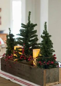 This rustic planter box would work beautifully as wedding centerpiece at the wedding party table or even at at the guestbook or gift table. We utilize it in our home as a way to display decor that can be updated throughout the year. As each season changes, we update the decor in the box. In the winter months we place pine tree branches, along with a few candles; in the fall a mix of tree branches and fall foliage looks great. In the spring and summer faux wheat grass or a bright mix of…