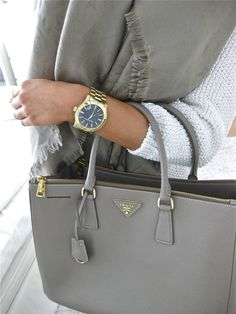 grey prada bag- Prada handbags new collection http://www.justtrendygirls.com/prada-handbags-new-collection/
