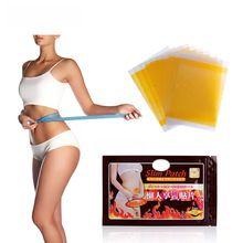 100 pcs Hot Eficaz Emagrecimento Vara Umbigo Emagrecimento Adesivo Produtos Remendo Magro Perda de Peso Queima de Gordura Magnética Remendo C070 alishoppbrasil
