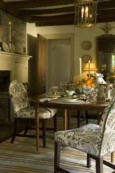 "Dinner with the ""rich aunt"" before the wedding. Cathy Kincaid Interiors 