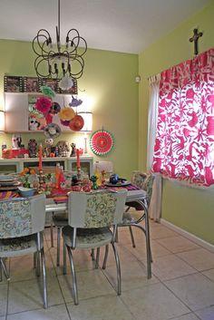 Day of the Dead Kitchen. Dia de los muertas. Dallas, TX: Melissa & Guillermo - contemporary - dining room - dallas - Sarah Greenman