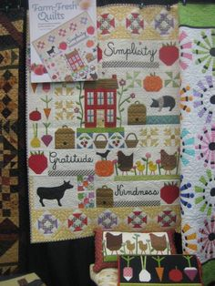kim gaddy farm fresh quilts - Google Search