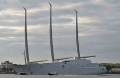 This Is the World's Largest Sailing Superyacht  - TownandCountryMag.com