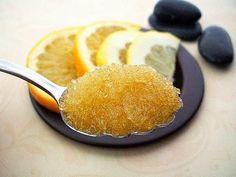 scrub al limone e zucchero di canna
