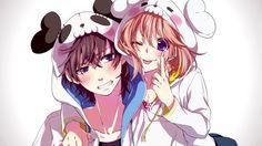 anime, honeyworks, and vocaloid image Anime Siblings, Anime Sisters, Cute Anime Couples, Anime Girls, Anime Love, Manga Love, Awesome Anime, Vocaloid, Koi