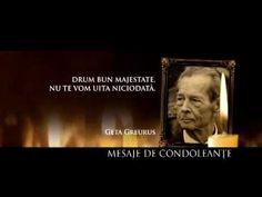 Sosirea la Palatul Regal din București Michael I Of Romania, Romanian Royal Family, Funeral, Royalty, King, Youtube, Movie Posters, Home, Film Poster