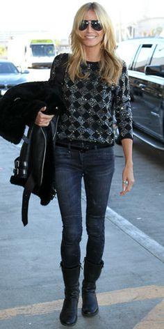 1e7dae72cf8 Heidi Klum at LAX Airport (February 10