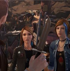 #beforethestorm episode 3. Chloe Price and Rachel Amber