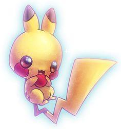 """Eu não falei que ia fazer a """"Imagens fofas 2""""? Pois aqui estão elas. Olhem que fofas uma mais bonita que a outra Pikachu S2 ..."""