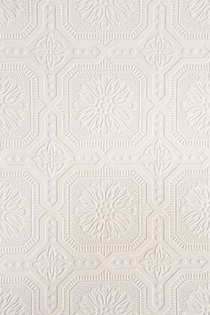 Graham & Brown Floral Square Paintable Wallpaper - Urban Outfitters