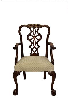 Ribbon back arm chair. Available in side chair as well as custom finishes and fabrics.