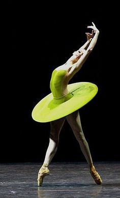 Forsythe's The Vertiginous Thrill of Exactitude- Polina Semionova pinned with Bazaart