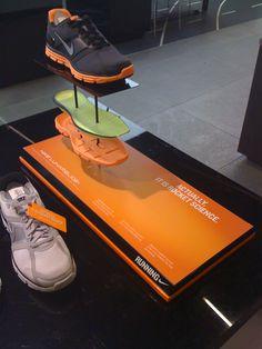 Nike shoe explode