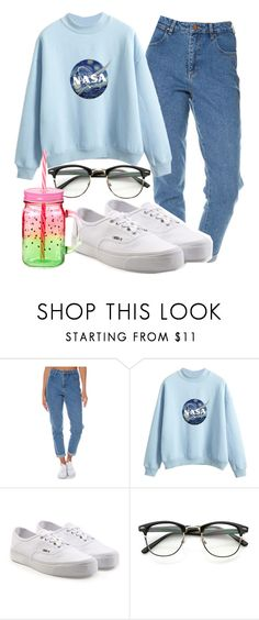 """Untitled #1260"" by together-moon ❤ liked on Polyvore featuring Wrangler and Vans"