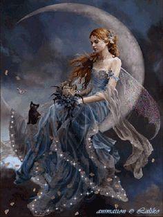 Angel or fairy animated gif