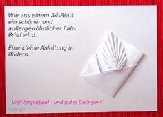 10 Inspirierende Bilder Zu Brief Falten Diy Paper Paper Crafts