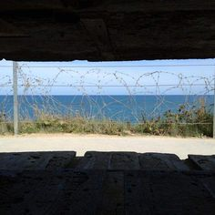 thatchillaxdude.com #thatchillaxdude  View of the English Channel from the H636 German Army observation bunker at Pointe du Hoc. This bunker complex was destroyed during the 6 Jun 44 D-Day bombardment and cleared by US Army 2nd Bn Rangers after scaling the precarious cliffs of Pointe du Hoc.  #travel #instatravel #worldtravel #walkabout #wanderlust #sightseeing #instalike #wander #wandern #holiday #dday #dday44 #pointduhoc #normandy #wwii #ww2 #france #usa  #greatbritain #canada