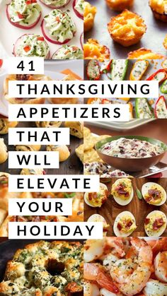 41 Thanksgiving Appetizers That Will Elevate Your Holiday