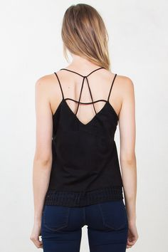 MIXED SIGNALS SUEDE TOP - $39