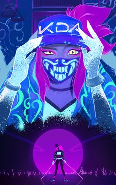 K/DA Akali by MinJung Kim HD Wallpaper Background Fan Art Artwork League of Legends lol Lol League Of Legends, Akali League Of Legends, Simple Illustration, Fan Art, Character Concept, Character Art, Akali Lol, Arte Cyberpunk, Jung So Min