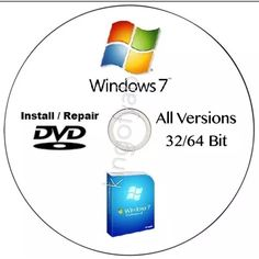Windows 7 - All edition in 1 DVD Drive 64  #Software