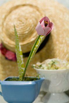tulipa de papel