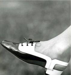 1960's Rayne Shoe Interesting pattern