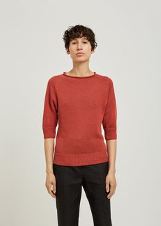 Cast Off Roll Neck Sweater