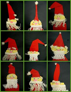 what do you do when someone donates a ton of horrible off-white macrame' fringe to your classroom? i mean seriously--how could we not? Hobbies And Crafts, Arts And Crafts, Art For Kids, Crafts For Kids, Christmas Crafts, Christmas Ornaments, Christmas Ideas, Textiles, Thematic Units
