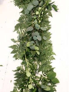 DIY Network gives easy step-by-step instructions for making your own floral garland.