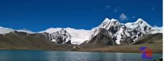 Beautiful snow peak on way to Gurudongmar in Sikkim(India). Get Info about more beautiful places on http://travelbonanza.net/