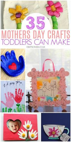 Mothers day crafts for toddlers easy #mothersday #toddler #kidscrafts