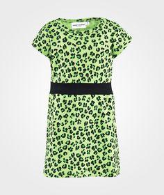 Leopard Aop Dress Green ss-15