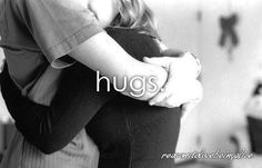 Don't we all love hugging someone who's a great hugger?  You know that feeling, don't deny.