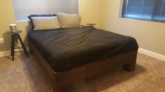 The Rogue Storm. Diy Bed Frame, Rustic Bedding, Diy Furniture, Budget, Sleep, Easy, Home Decor, Rustic Bed, Country Bedding