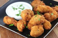PARMESAN RANCH CHICKEN BITES Really nice recipes. Every  Mein Blog: Alles rund um Genuss & Geschmack  Kochen Backen Braten Vorspeisen Mains & Desserts!