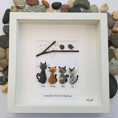 Pebble art cat mothers day gift for mom engagement gift unique birthday gift for her fathers . Pebble art cat mothers day gift for mom engagement gift unique birthday gift for her fathers day gift anniversary gift family pebble art dog, Unique Anniversary Gifts, Unique Birthday Gifts, Birthday Gifts For Her, Unique Gifts, Art Birthday, Birthday Message, Happy Anniversary, Happy Birthday, Anniversary Cards