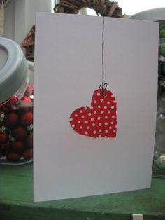 .Cute, cute, cute!! #cards #birthday #heart #diy